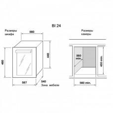 Indel B Built-In 24 Home Plus